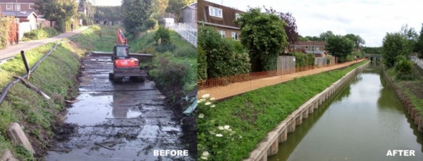 Amazing before and after shots of one part of the river - Waterways Project - LANTERN
