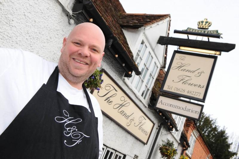 Tom Kerridge at The Hand and Flowers - Maidenhead Food