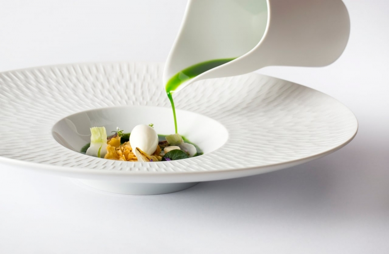 A dish at The Fat Duck - Maidenhead Food