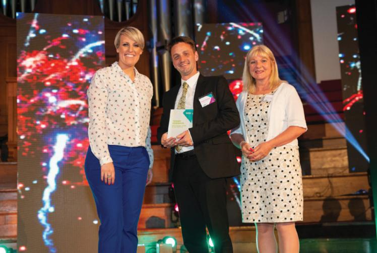 Teacher from Maidenhead award