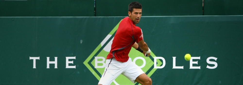 Novak Djokovic at The Boodles - LANTERN
