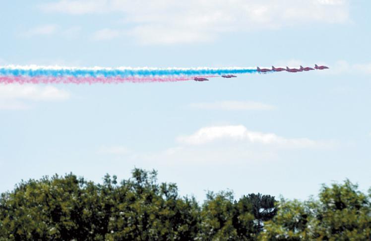 RAF turns 100 - LANTERN
